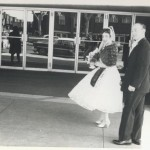 Rose and Sandy (twin's parents) on their Wedding Day